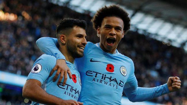 Manchester City Bungkam Arsenal 3-1