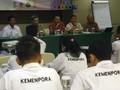 Kemenpora Gelar Pelatihan Wasit Bulutangkis Asian Games 2018