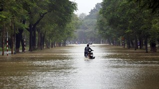 Banjir di Iran Tewaskan 17 Orang