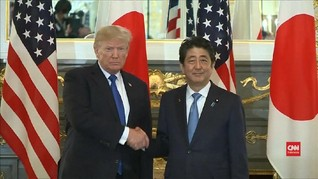 Trump Ingin Hubungan Dagang AS dengan Jepang Berjalan Imbang