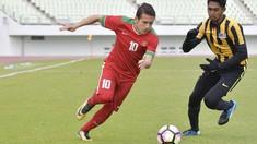Timnas Indonesia U-19 vs Malaysia Imbang di Babak Pertama