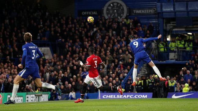 Morata Bawa Chelsea Kalahkan Manchester United