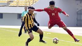 FOTO: Timnas Indonesia U-19 Dibantai Malaysia