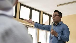Pemerintah Beri 'Modal' untuk Ridwan Kamil dan Azwar Anas