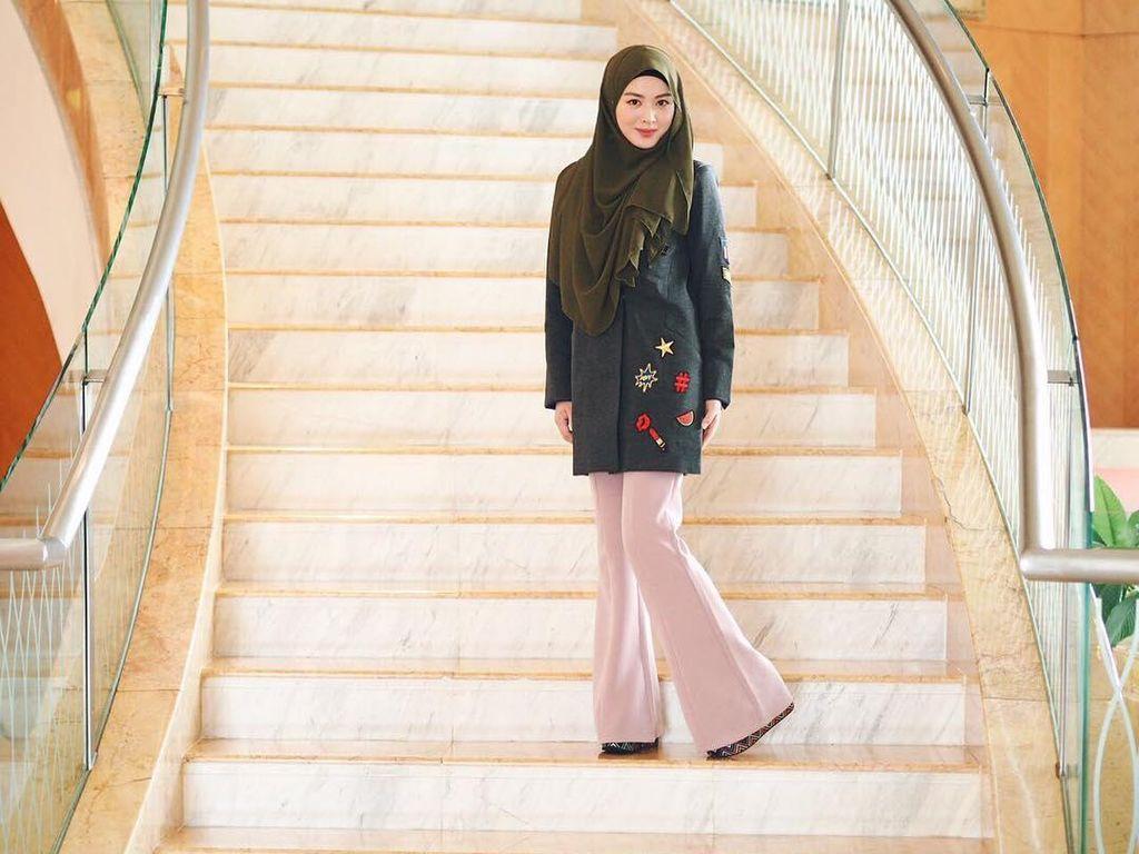Foto: Cantiknya Ayana, Eks Personel Girlband Korea yang Mualaf & Berhijab