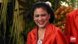 Iriana Jokowi Pilih Oranye 'Biar Cetar'