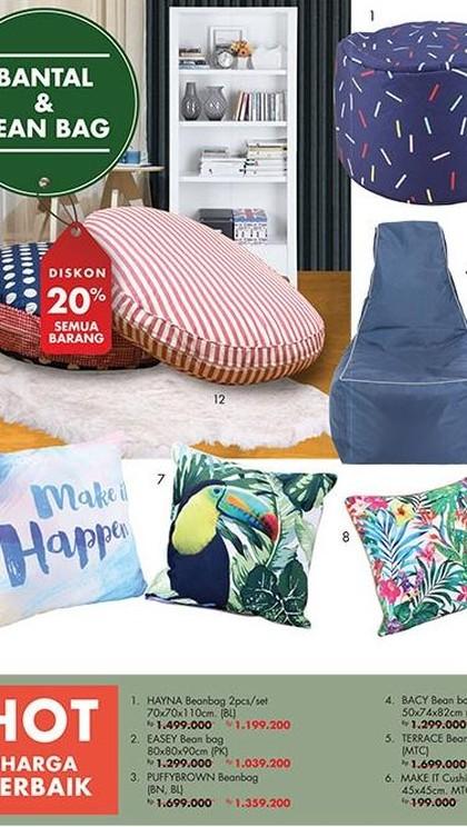 Harga Spesial Sofa Bantal Kekinian di Index Living Mall