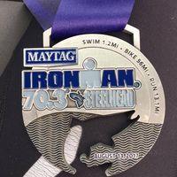 Baru-baru ini, Todd menyelesaikan perlombaan setengah Ironman terbarunya pada Agustus lalu. (Foto: Facebook/Todd Crandell)