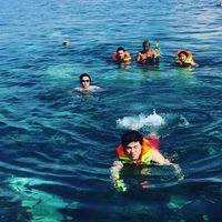 Berbeda dengan anak dari Joko Widodo, Nicholas yang merupakan putera dari Basuki Tjahaja Purnama alias Ahok lebih menggemari olahraga yang bersentuhan dengan laut. (Foto: Instagram @nachoseann)