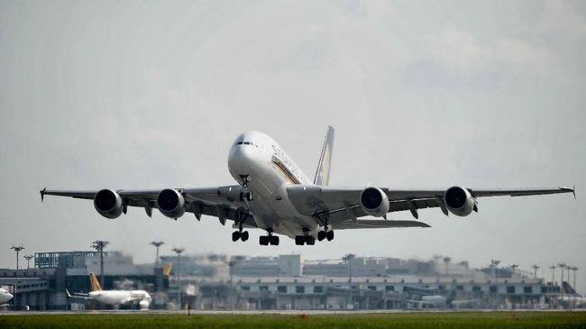Masalah Mesin, Singapore Airlines Larang Dua Pesawat Boeing