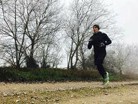 Bahkan di musim dingin sekalipun Marquez akan menyempatkan dirinya untuk berlari. (Foto: Instagram/marcmarquez93)