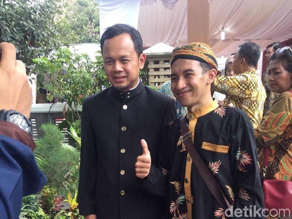Alasan Bima Arya Pakai Batik Angkot di Resepsi Pernikahan Kahiyang