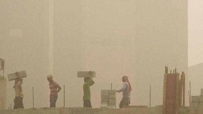 Tingkat Polusi di New Delhi Membahayakan, Sekolah Ditutup