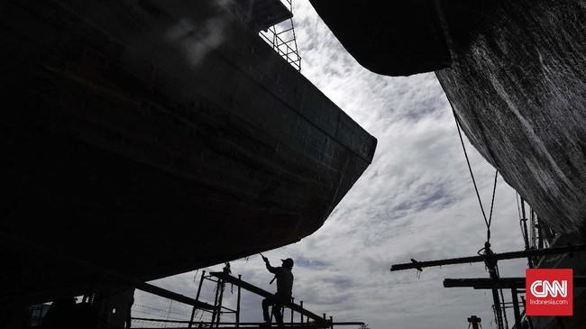 Pemerintah saat ini menempatkan sektor maritim sebagai salah satu sektor yang mendapatkan prioritas dalam pembangunan nasional. (CNNIndonesia/Adhi Wicaksono)
