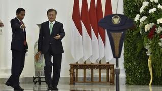 Jokowi dan Presiden Korsel Desak Korut Patuhi DK PBB