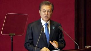 Moon Jae-in: Korut Tak Tuntut Penarikan Pasukan AS di Korsel