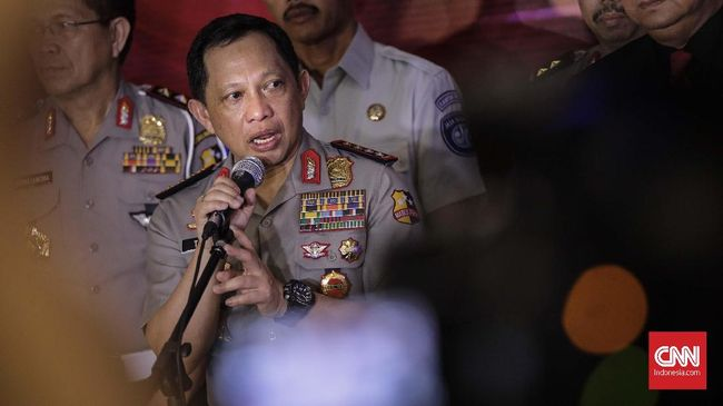Kapolri Buka Peluang Hentikan Kasus Pimpinan KPK Agus-Saut
