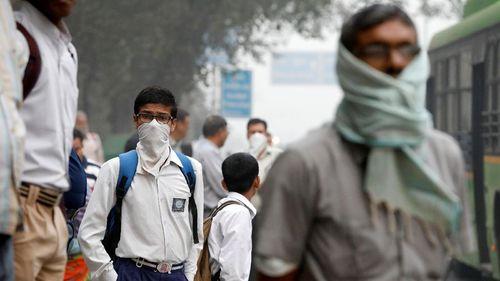 Saking Tercemarnya, Anak Sehat Bisa Mendadak Kena Radang Paru di India