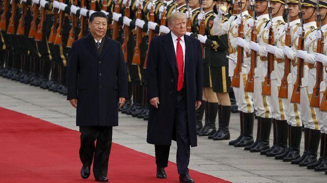 Xi Jinping Gelar Karpet Merah untuk Donald Trump