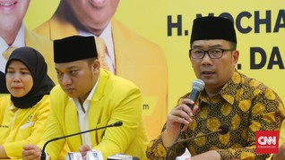 Ridwan Kamil: Kalau Lancar Insya Allah Lusa Umumkan Wakil