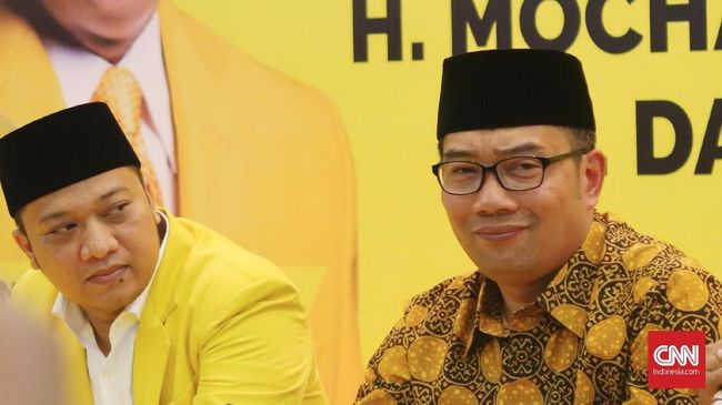 Ketua DPP Golkar: Kami Tak Ingin Digantung Ridwan Kamil