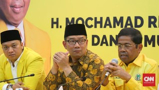 Ridwan Kamil Jadi Trending Topic Usai Golkar Cabut Dukungan