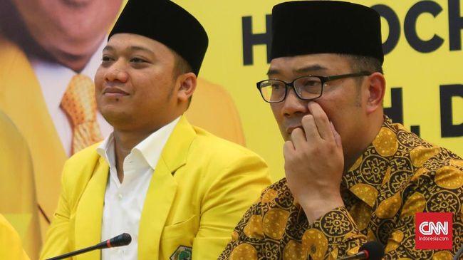 Ridwan Kamil Berharap Golkar Tak Ubah Rekomendasi Cagub Jabar