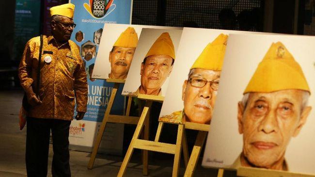 Jokowi Cairkan Kenaikan Tunjangan Veteran Bulan Depan