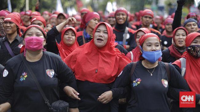 Buruh Rela Gaji Dipotong Ikut Demo Daripada UMP Turun