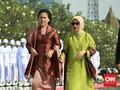 Mufidah Kalla Gantikan Iriana Jokowi Blusukan di NTT