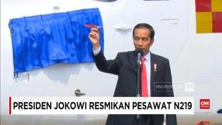 VIDEO: Jokowi Resmikan Pesawat 'Anak Bangsa' Nurtanio