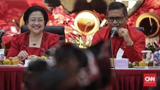 Megawati Umumkan Empat Jagoan PDIP untuk Pilkada Serentak