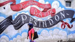FOTO: Perjalanan Batik dari Halaman Rumah di Pekalongan