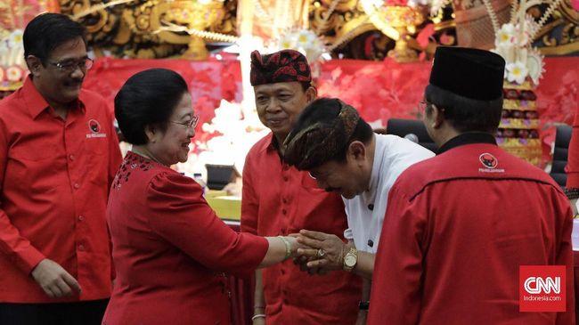Megawati Pilih Wayan Koster karena Pernah Jadi Anggota DPR
