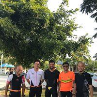 Engku Emran rencananya akan mengikuti triatlon IRONMAN 70.3 Langkawi Malaysia 2017 yang dimulai Sabtu (11/11). (Foto: Instagram/iamkumbre)