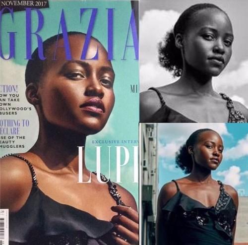 Rambut Keriting Dipotong, Lupita NyongO Kritik Majalah Ternama Inggris