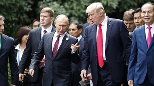 Putin, Erdogan Prihatin atas Keputusan Trump soal Yerusalem