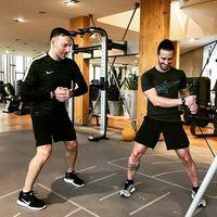 Di halaman instagramnya Andrea Dovizioso atau kerap dipanggil Dovi beberapa kali membagikan momen ketika dirinya menjalani set olahraga untuk menjaga kebugaran dan performa fisiknya. (Foto: Instagram/andreadovizioso)