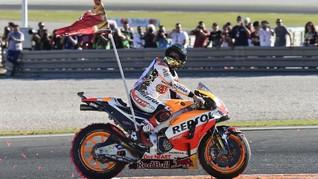 Marc Marquez Tak Akan Beralih dari Honda