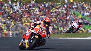 Marquez Dihukum Turun Tiga Posisi di Start MotoGP Amerika