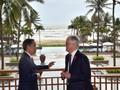 Jokowi-Turnbull Bahas Krisis Rakhine hingga Marawi di APEC