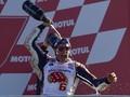 Marquez Kecewa Dovizioso Gagal Finis di MotoGP Valencia