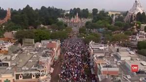 VIDEO: Wabah Infeksi Sebabkan Menara Disneyland Ditutup