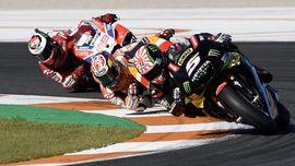 Zarco Menghantui Marquez di MotoGP Valencia