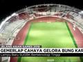 VIDEO: Gemerlap Cahaya Stadion Gelora Bung Karno