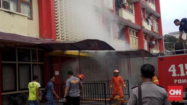Asrama PTIK Polri yang Terbakar Bangunan Tua