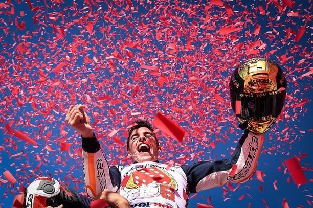 Mahkota Juara MotoGP 2017 Milik Marquez