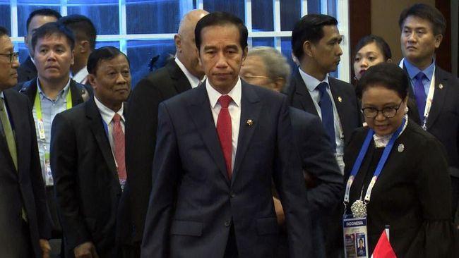 Jokowi Mengaku Airlangga Cerita Ingin Jadi Ketum Golkar