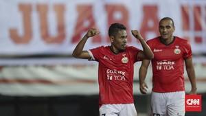 FOTO: Persija Rusak Pesta Gelar Juara Bhayangkara FC