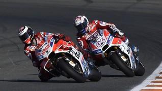 Dovizioso Berharap Tak Bertengkar dengan Lorenzo di 2018
